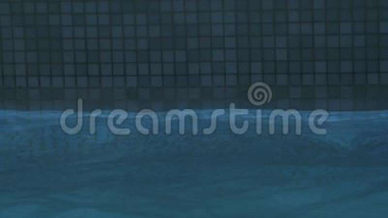 Water Level In The Swimming Pool. Water Level Goes Above And Below ...