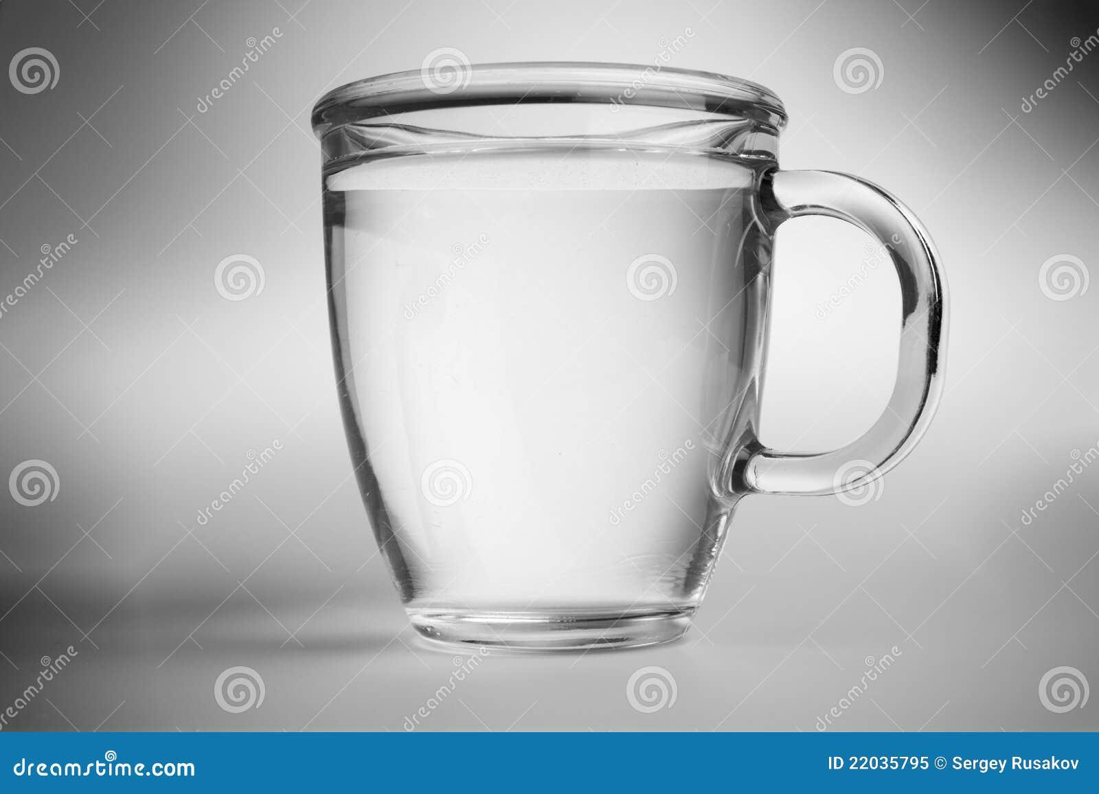 Water In Mug Stock Image Image Of Food White