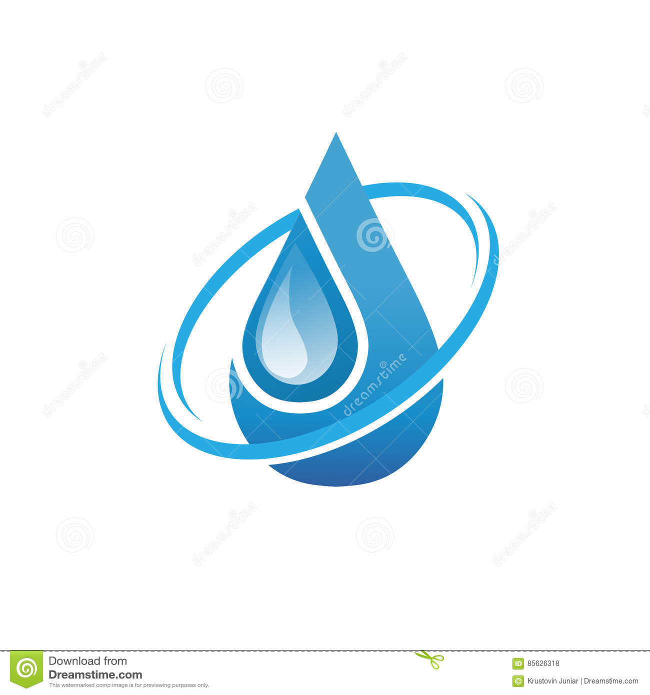 water oil and gas symbol stock vector image of clear