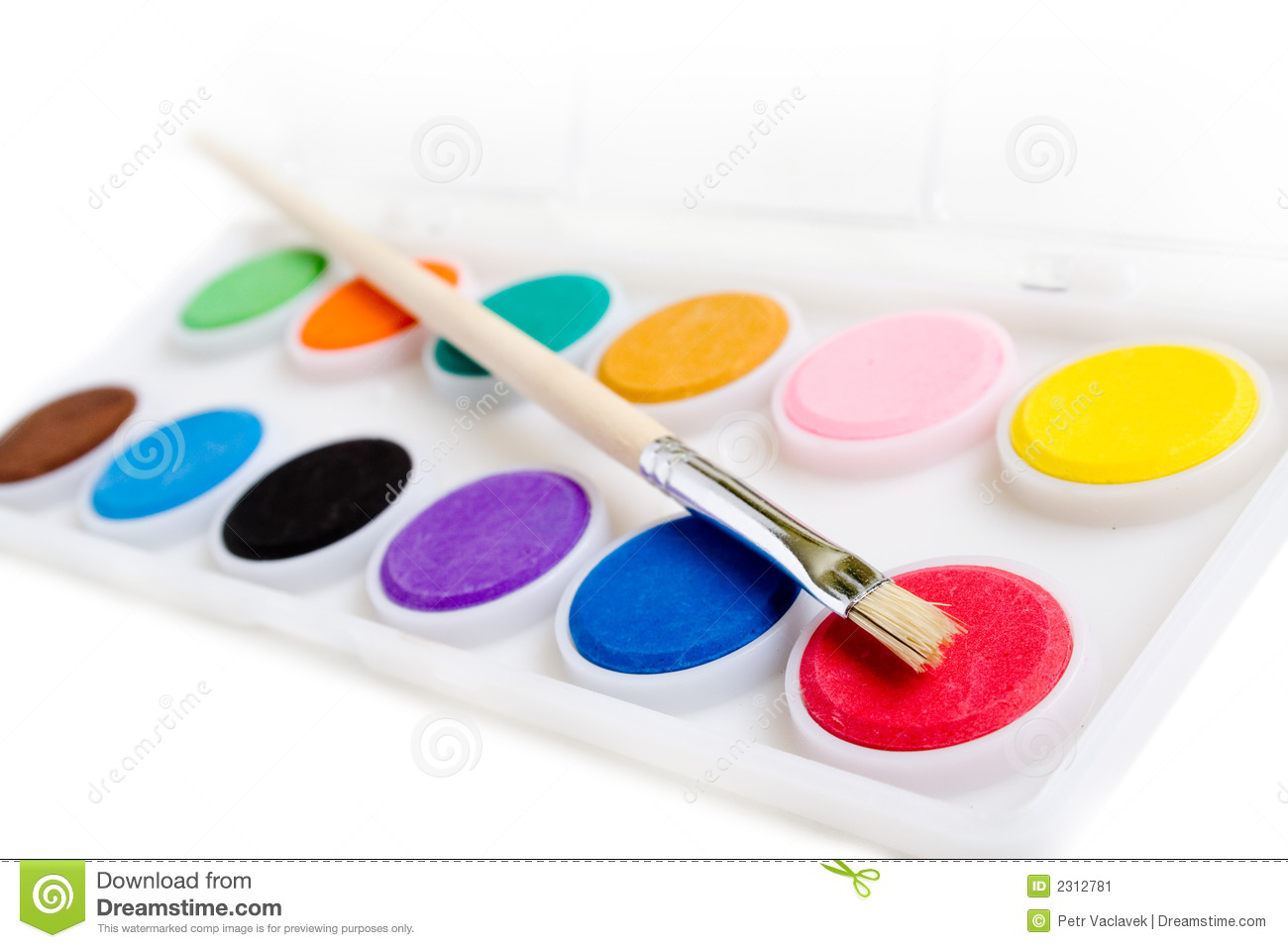 water paints stock image image 2312781 vector paint brush drawing vector paintbrush circle