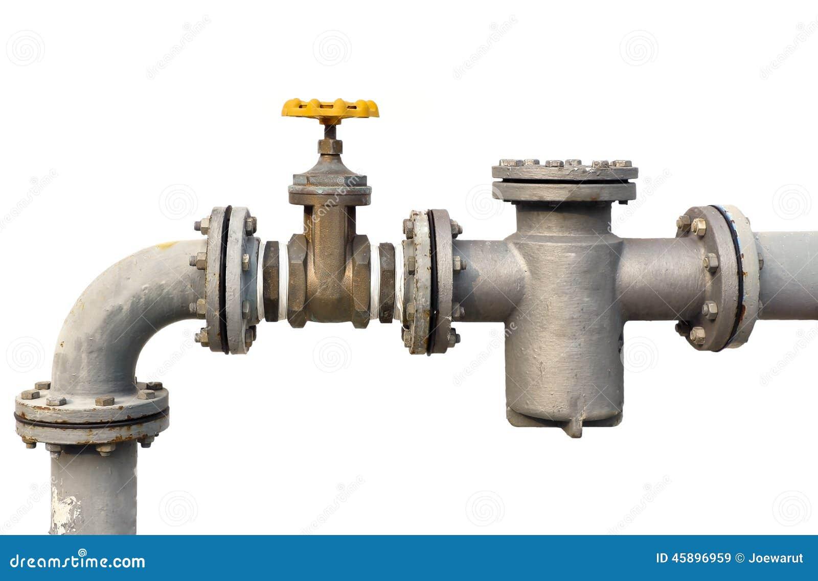 water pipe valve stock photo image 45896959. Black Bedroom Furniture Sets. Home Design Ideas