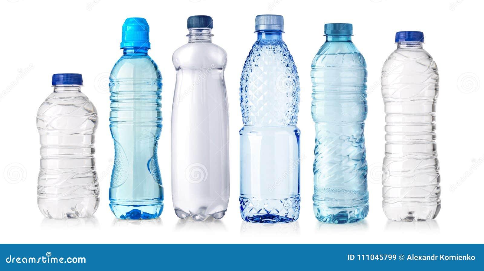 Water plastic fles