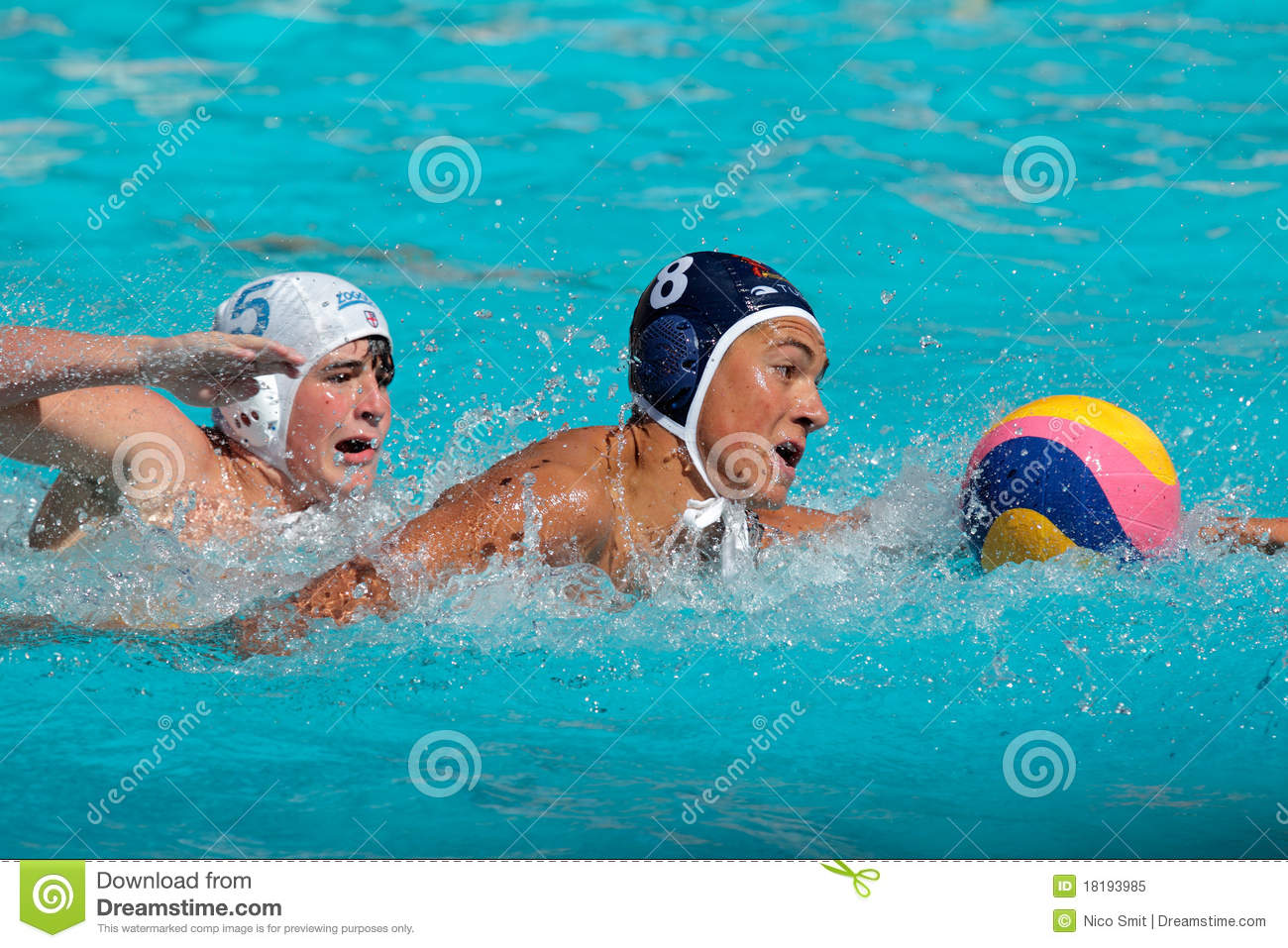 ... water polo tournament, Bloemfontein, South Africa, 28-29 January 2011