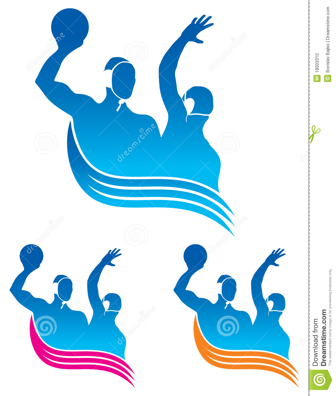 Water Polo Logo Stock Photo - Image: 18003310 Adrien Brody Art