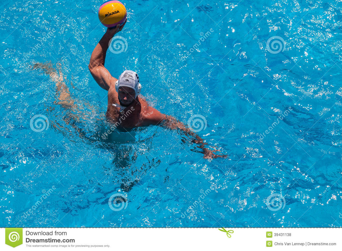 Swimming Pool Action : Water polo swimming pool action editorial stock photo