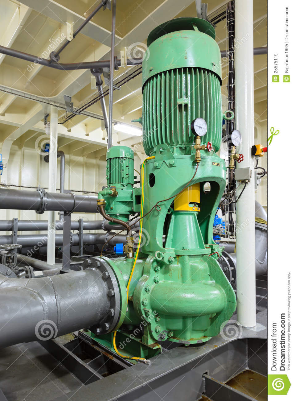 Water Pumping Station Royalty Free Stock Images Image