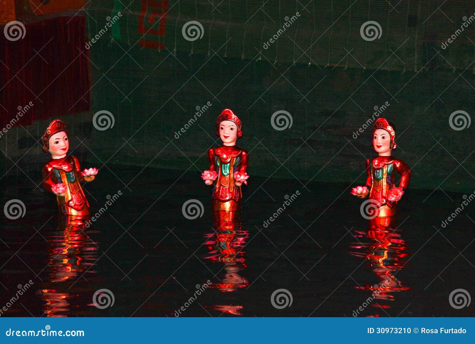 Water Puppets, Hanoi, Vietnam