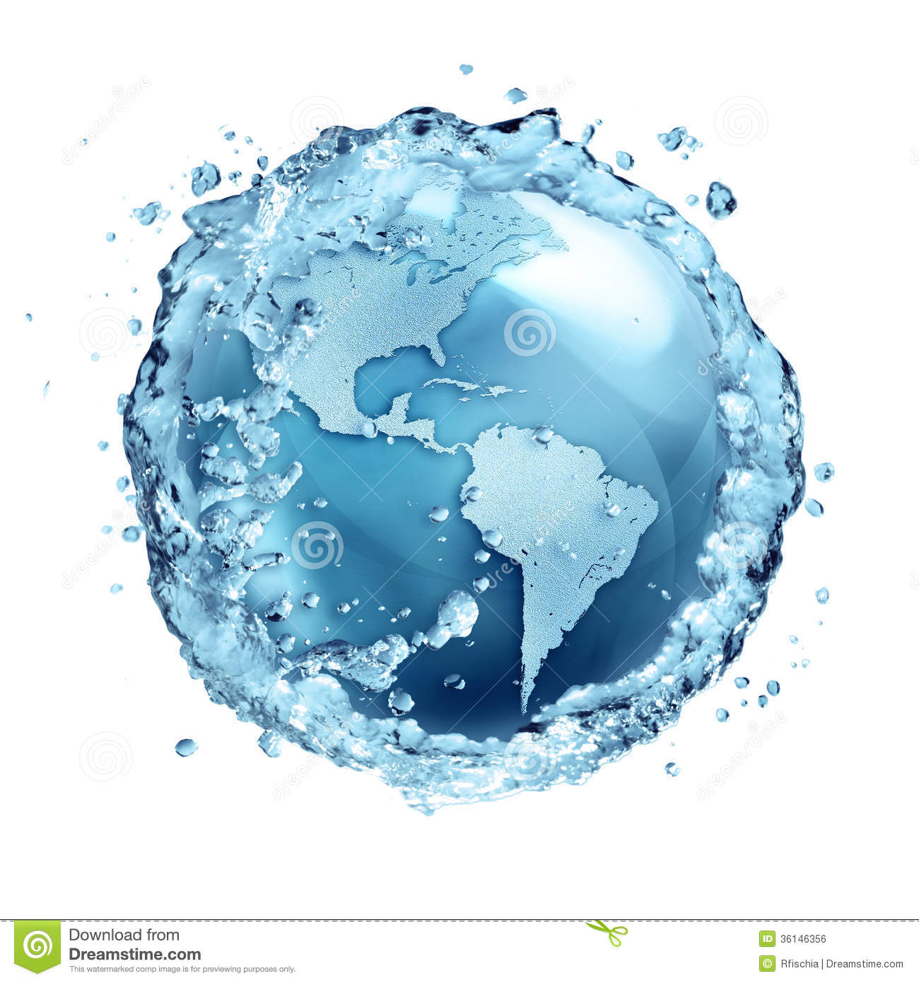 Water Recycle In World Usa Stock Photo Image Of Global 36146356