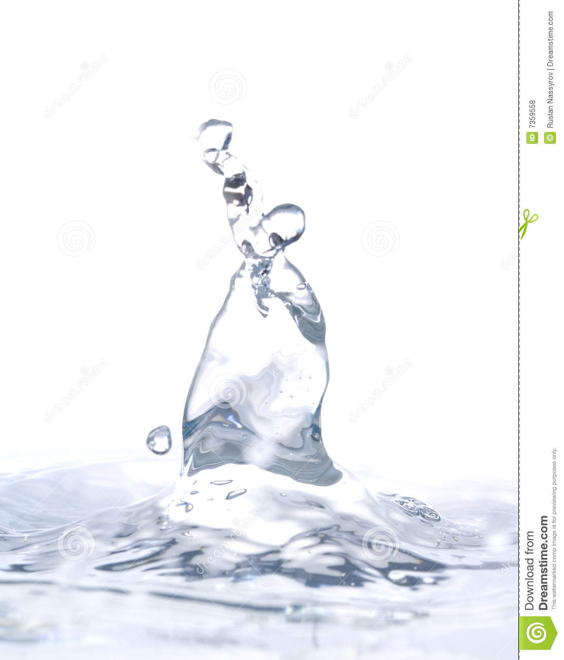 Water Sculpture Royalty Free Stock Photos - Image: 7359558