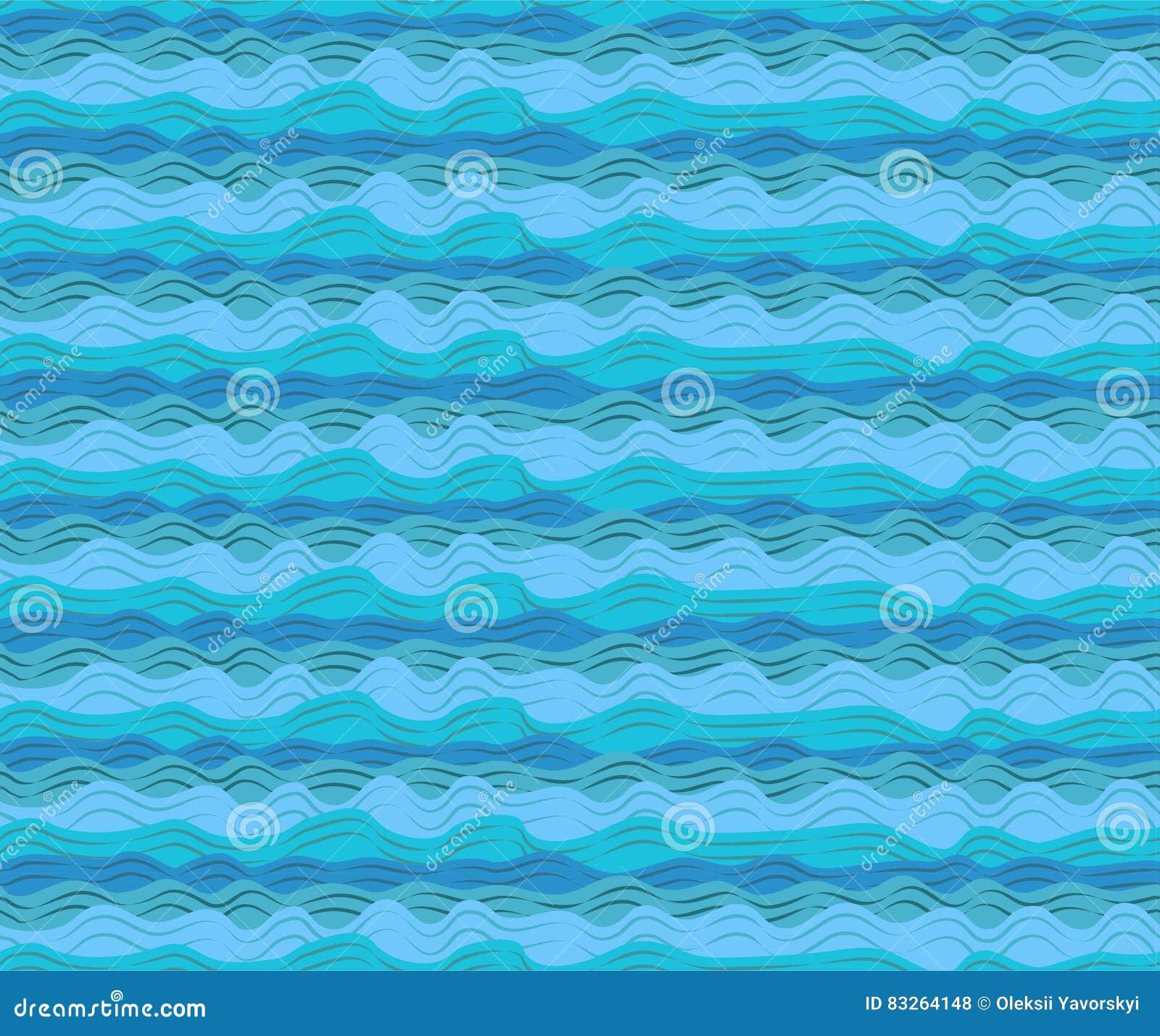 Water Sea Ocean Aqua Waves Wave Blue Pattern Seamless Calm