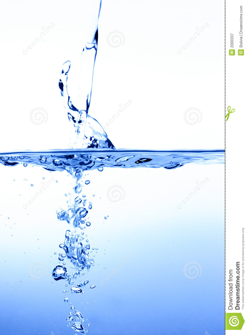 Water Shape Royalty Free Stock Photography - Image: 2000337
