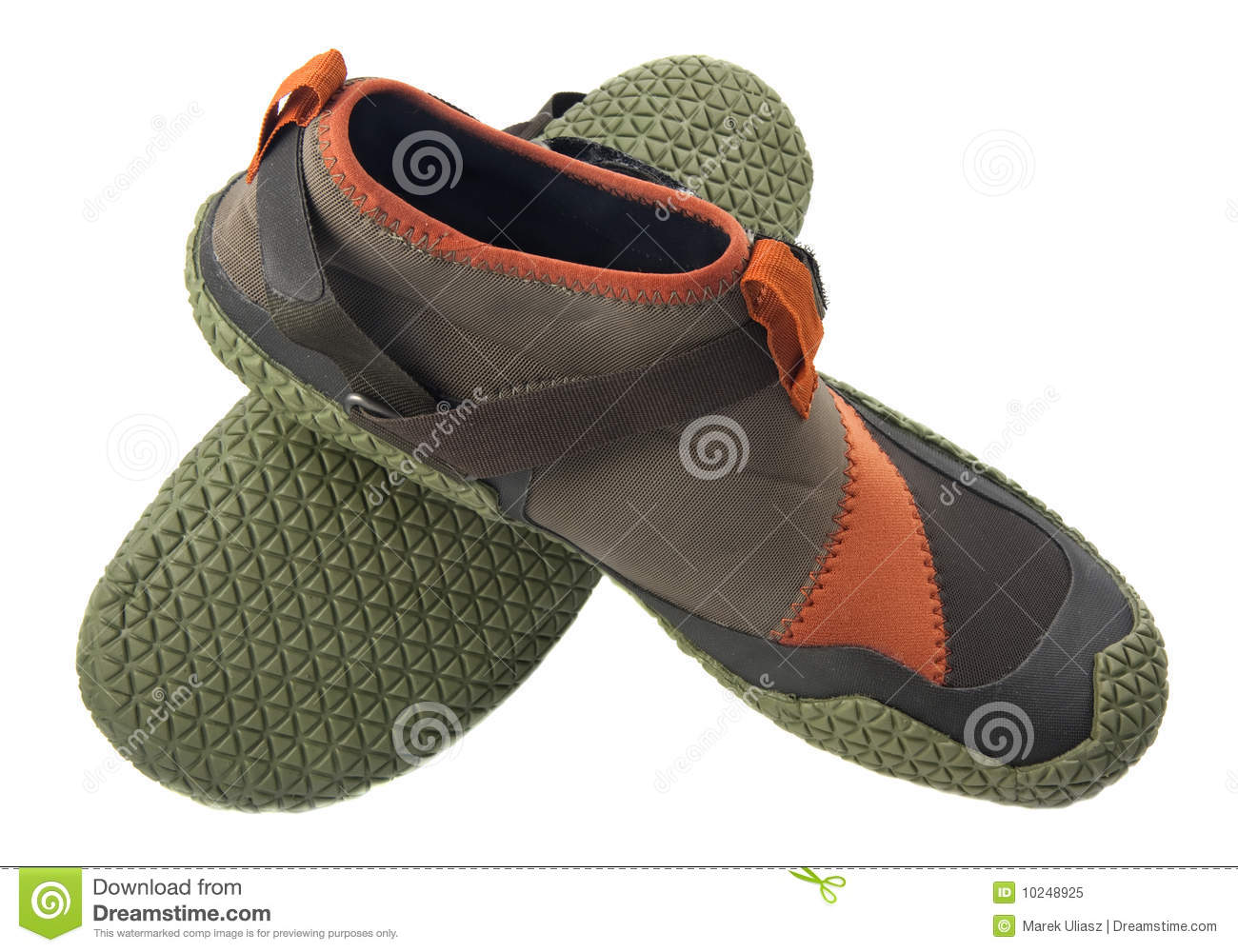 Water Shoes For Kayaking Royalty Free Stock Photo - Image: 10248925
