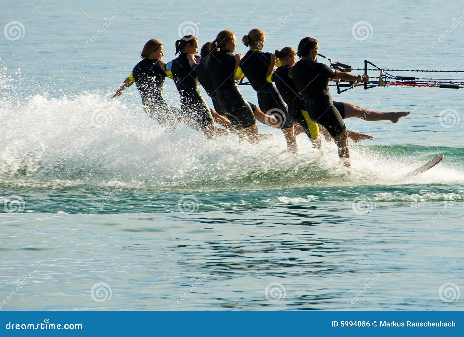 Water ski ballet