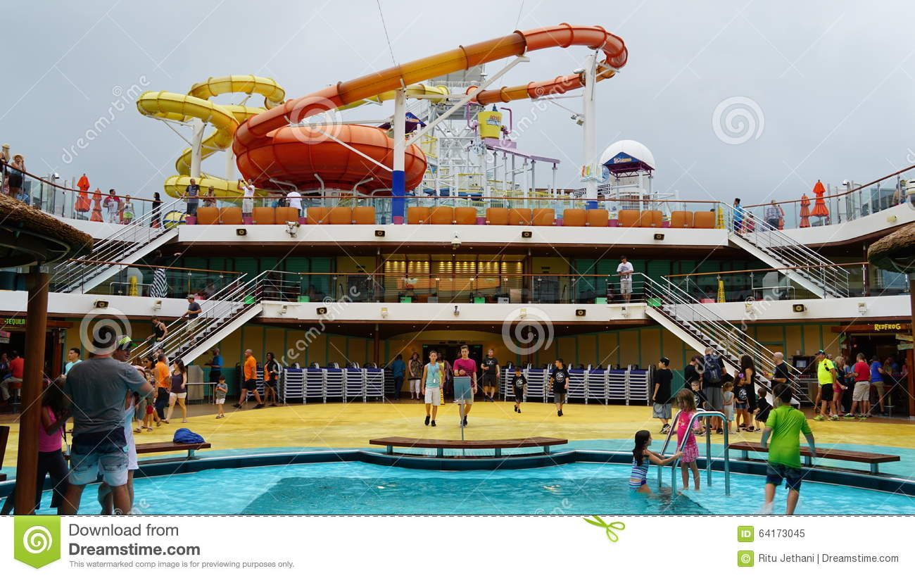 how to get water on cruise ship