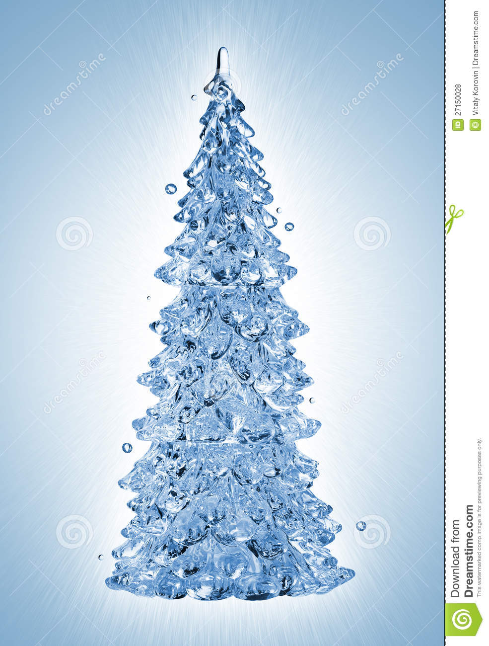 Water Splash Christmas Tree Royalty Free Stock Photos - Image ...