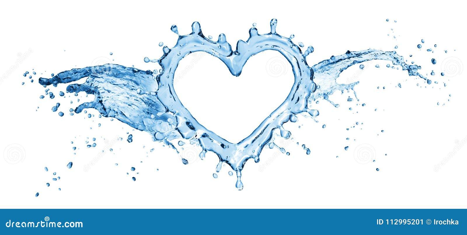 White water splashin