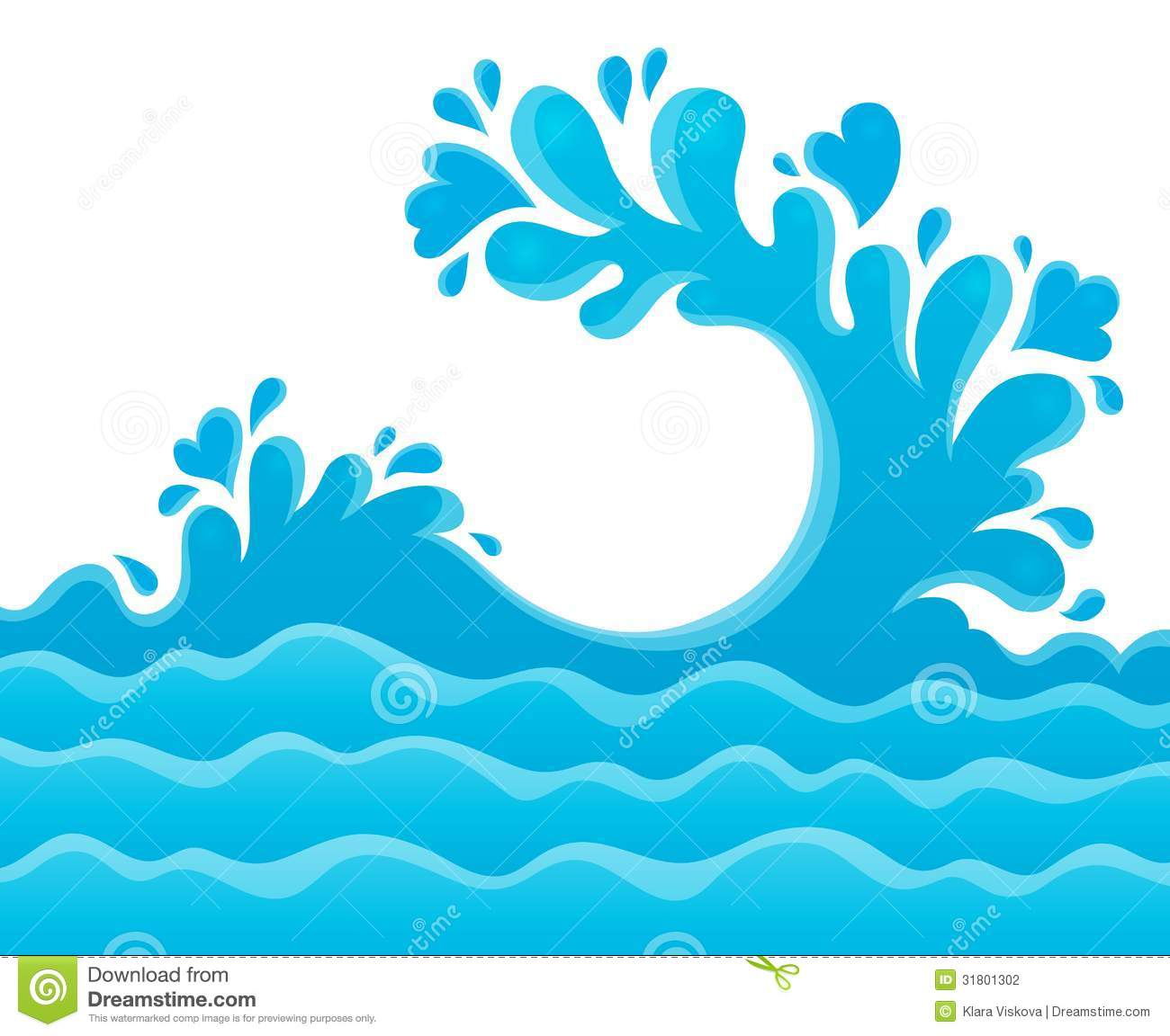 Ocean Water Clipart Images & Pictures - Becuo