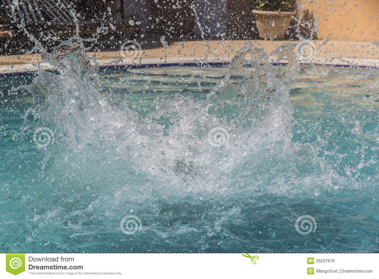 Water splashes in the swimming pool stock photo image of clean full 26237618 for How to make swimming pool water sparkle