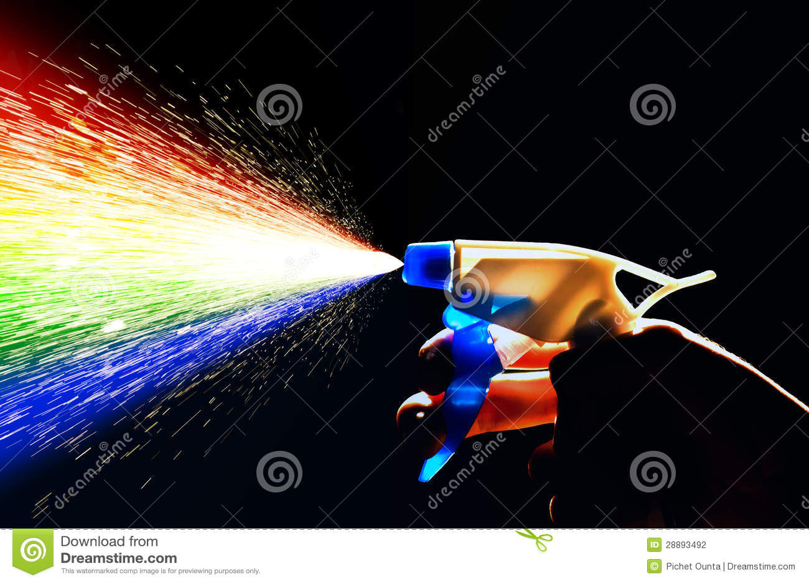 Water Spray Rainbow Stock Photography Image 28893492