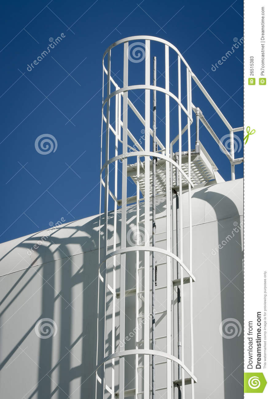 Water Storage Tank Ladder Stock Photos Image 26515383