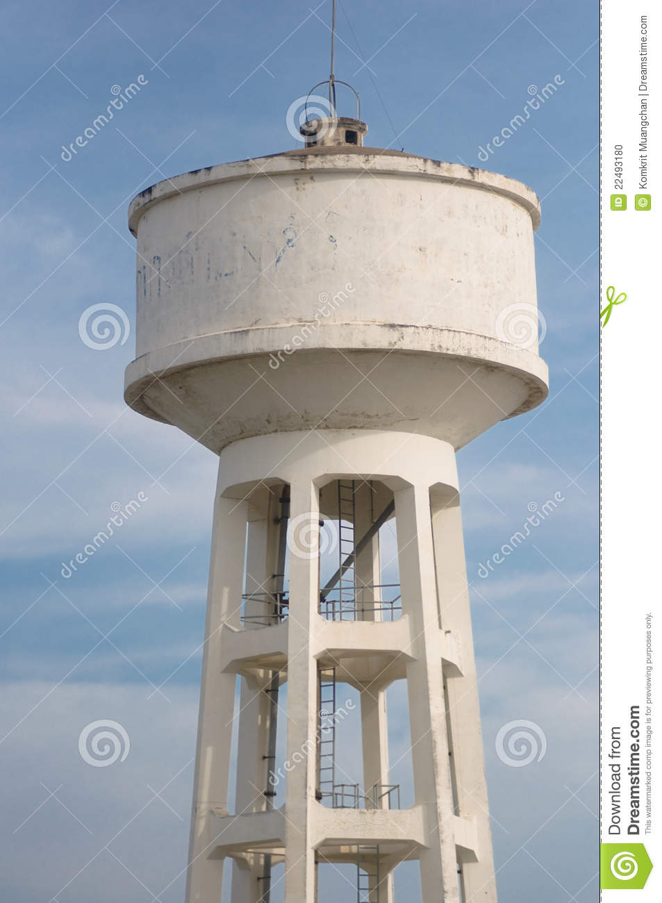 Water Supply Tank Stock Photo Image 22493180
