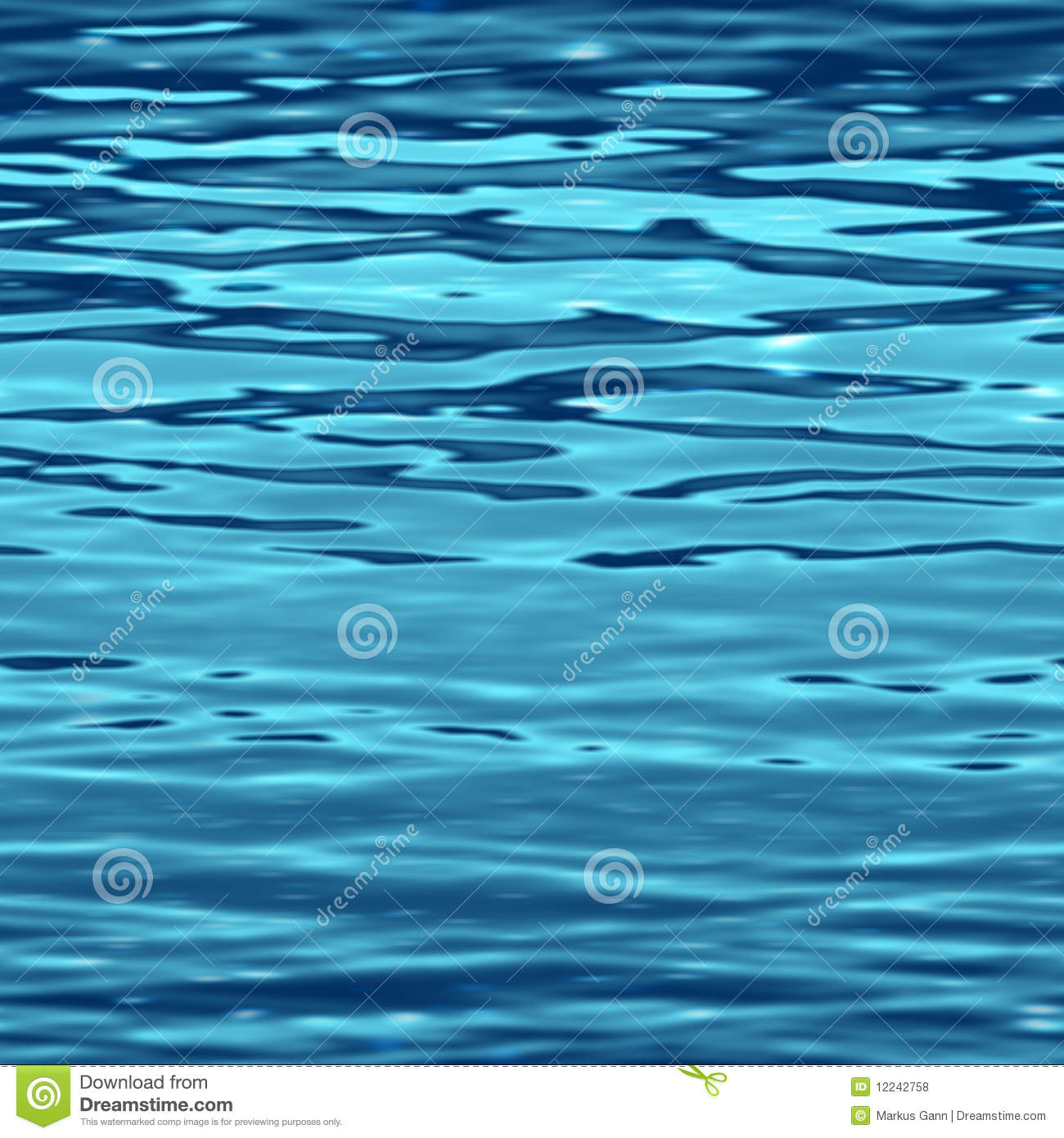 Water Surface Stock Illustration Image Of Aquatic Light