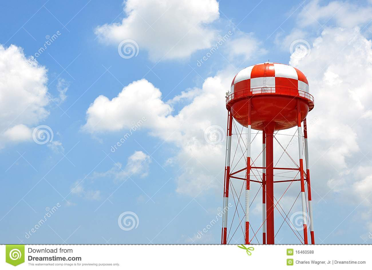 Water tank tower royalty free stock photos image 16460588