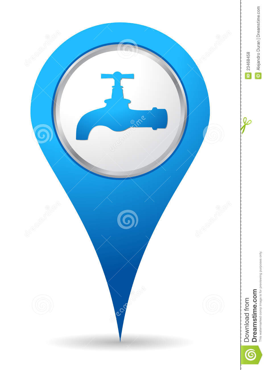 Water Tap Icon Stock Vector Illustration Of Drip