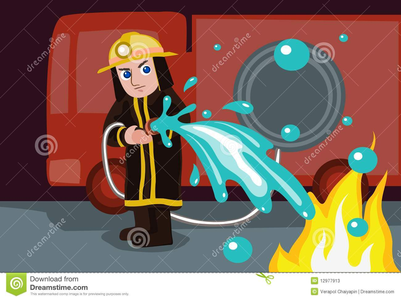 Water To Extinguish Fire Stock Illustrations U2013 59 Water To Extinguish Fire  Stock Illustrations, Vectors U0026 Clipart   Dreamstime
