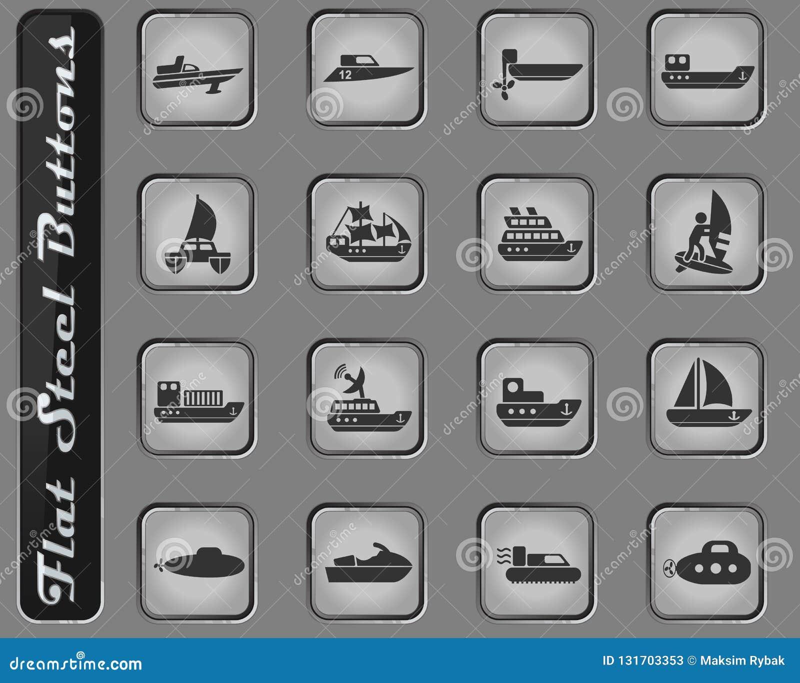 6c7e0ab329b6 Torpedo Buoy Flat Icon Stock Illustration