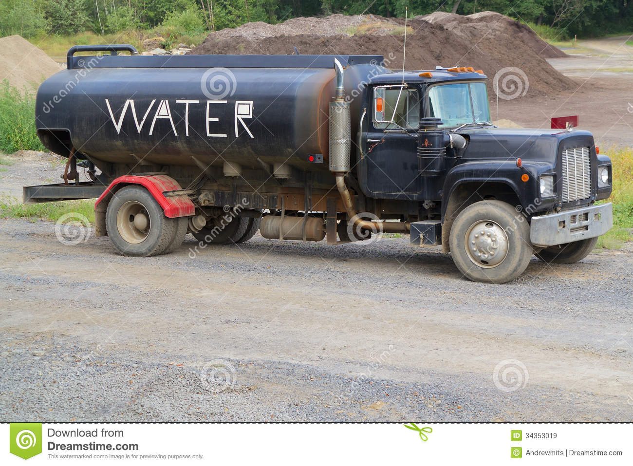 Why Are Water Trucks Labeled As Such Off Topic
