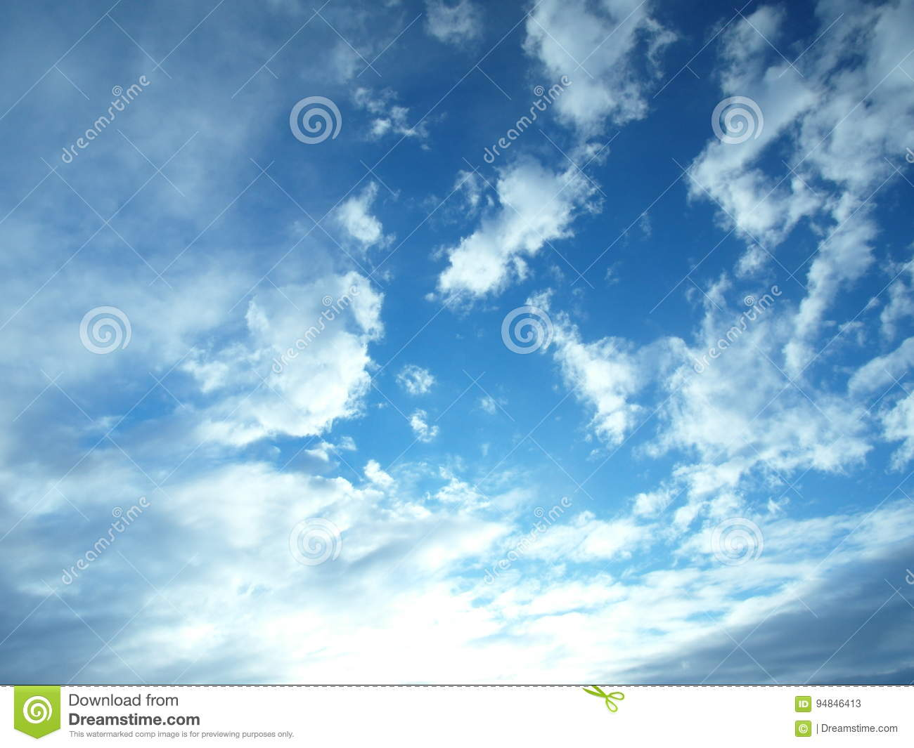water vapor condenses into cloud stock image