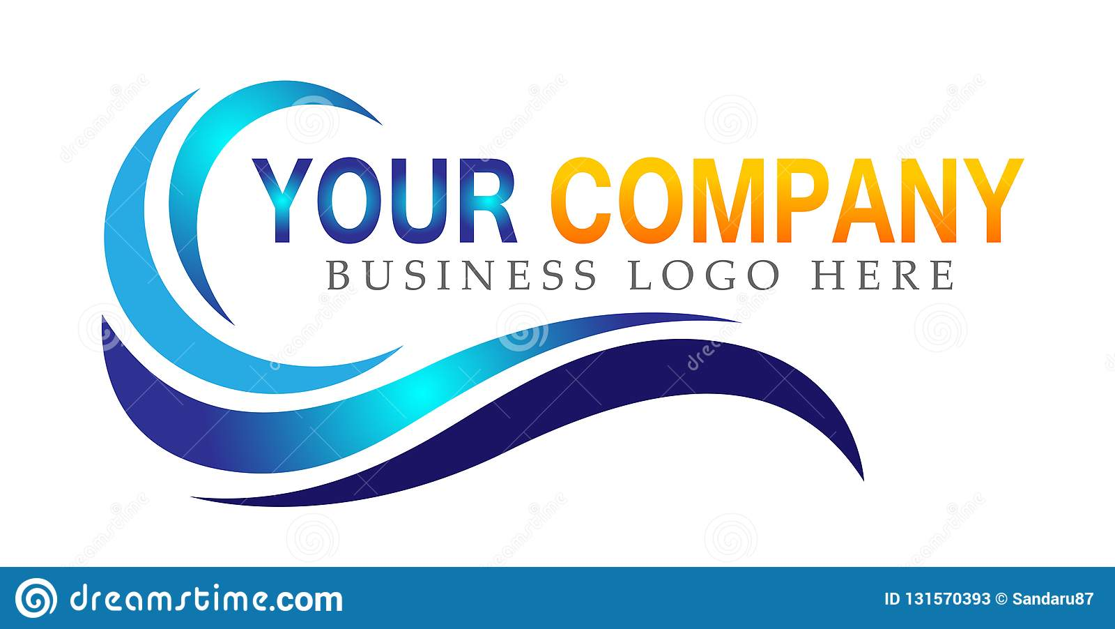 Water wave sea wave Ocean beach logo Template vector Clean water drop concept logo icon element sign on white background