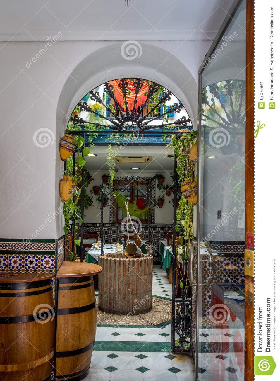 Super A Water Well Inside A House In Cordoba Spain Netherlands Complete Home Design Collection Papxelindsey Bellcom