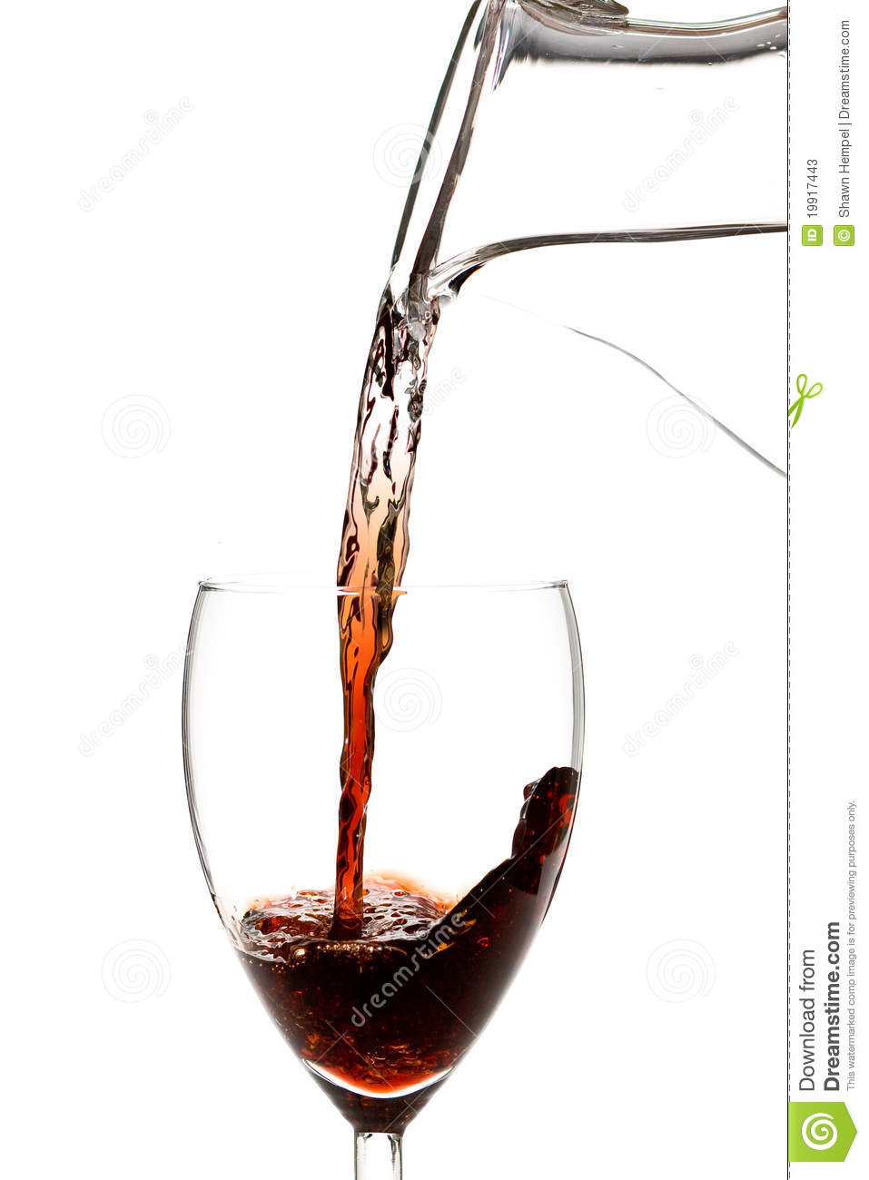 Water Into Wine Stock Photos - Image: 19917443