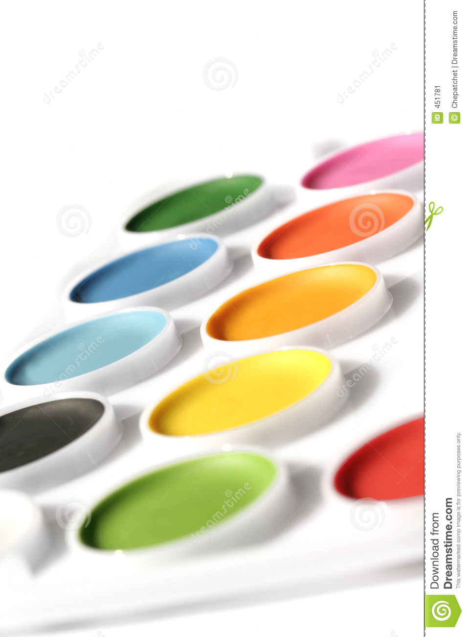 Download Watercolor stock image. Image of variety, paints, crafts - 451781