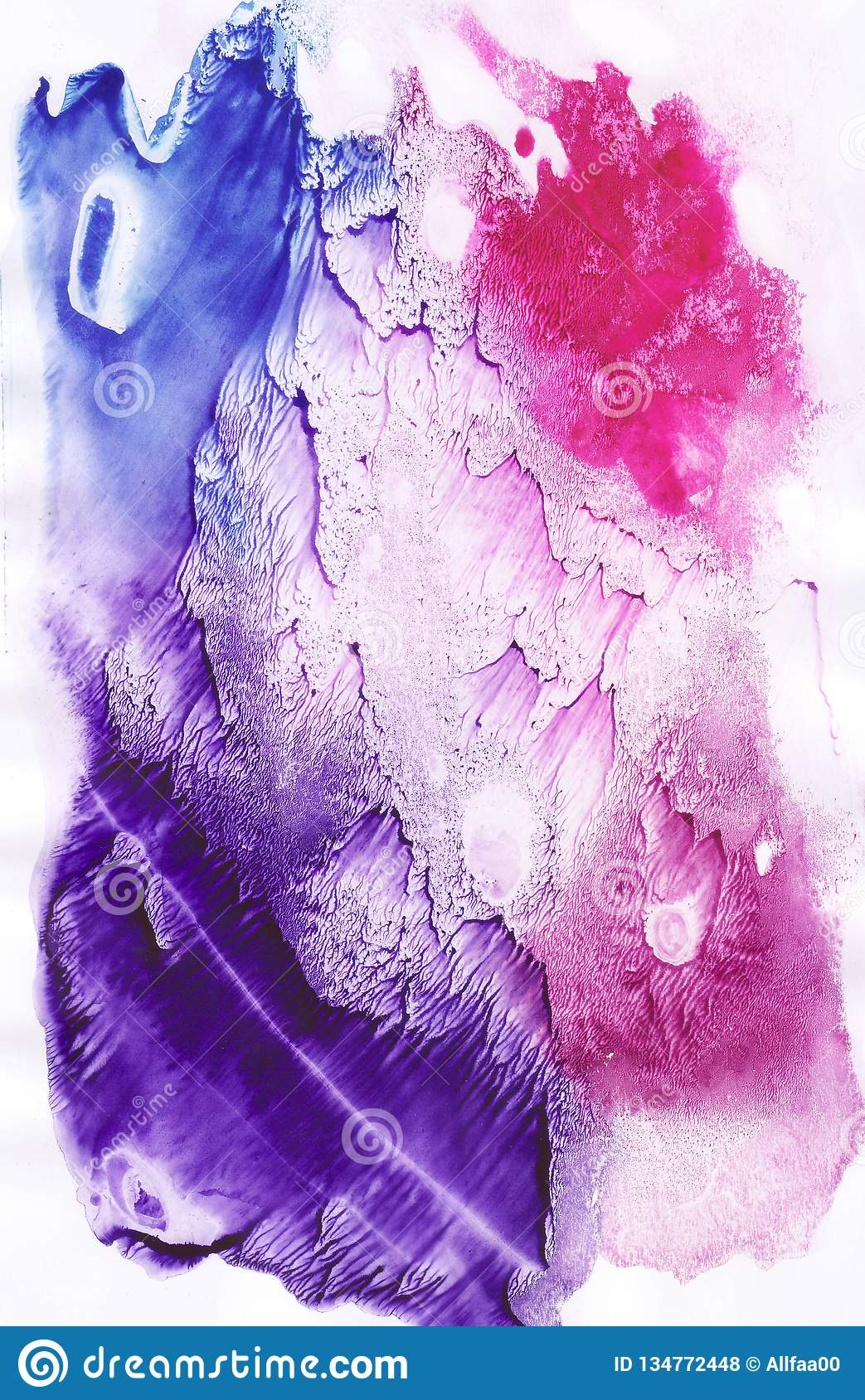Watercolor Abstract Background Hand Painted Texture Watercolor