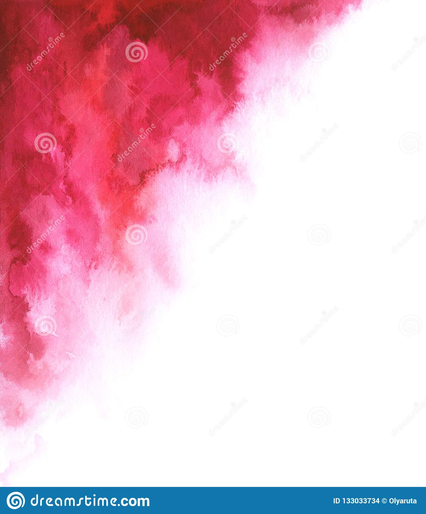 Watercolor Abstract Red And White Gradient Background For Your Design Stock Illustration Illustration Of Background Texture 133033734