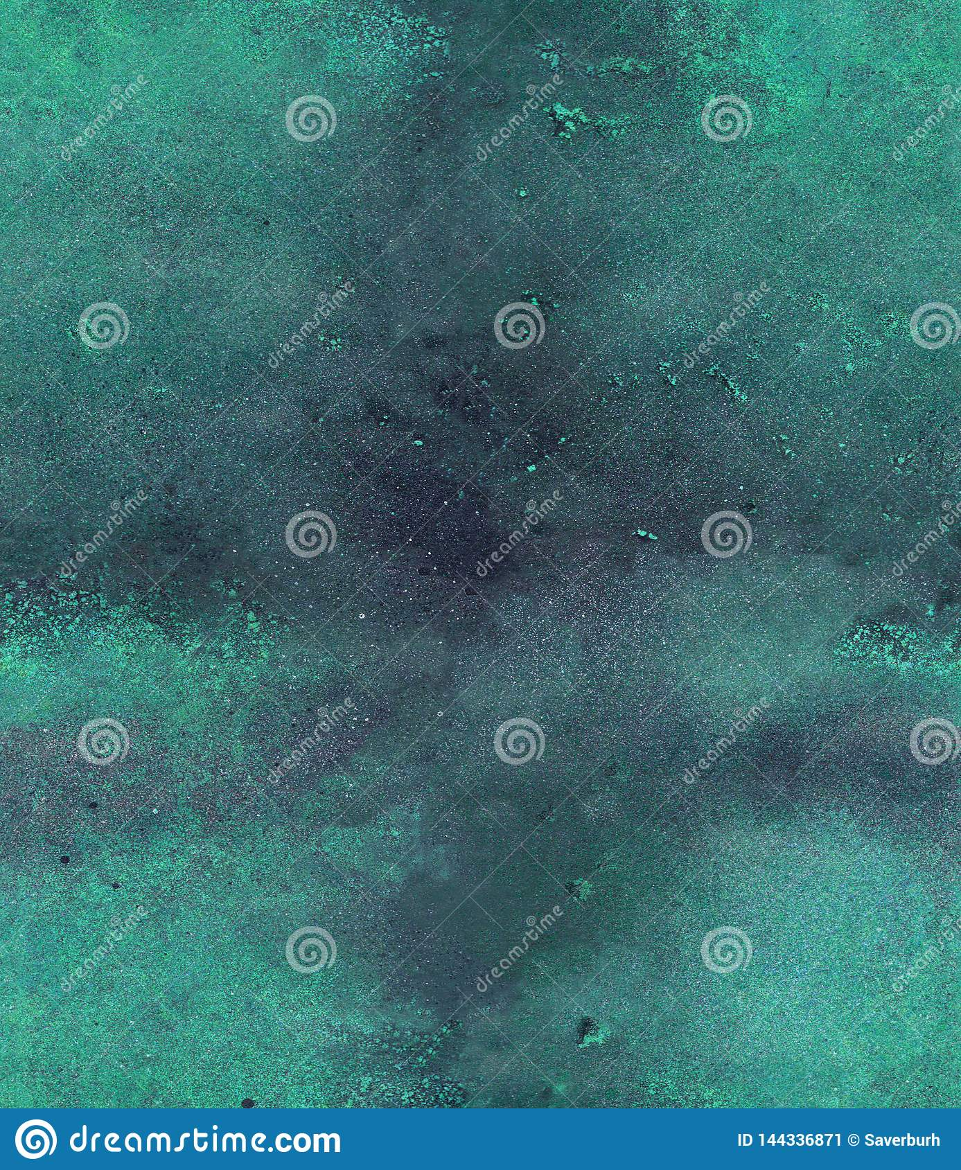 Watercolor, acril and ink seamless pattern