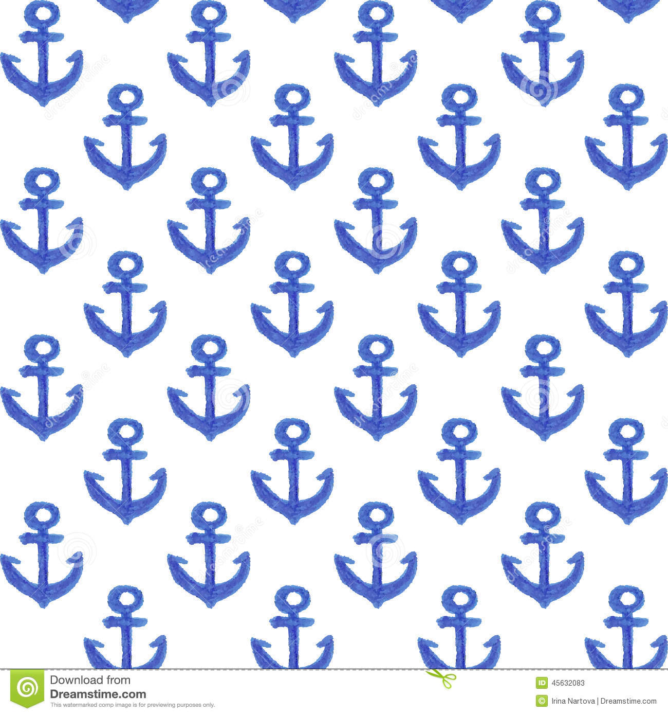 navy blue and white anchor wallpaper