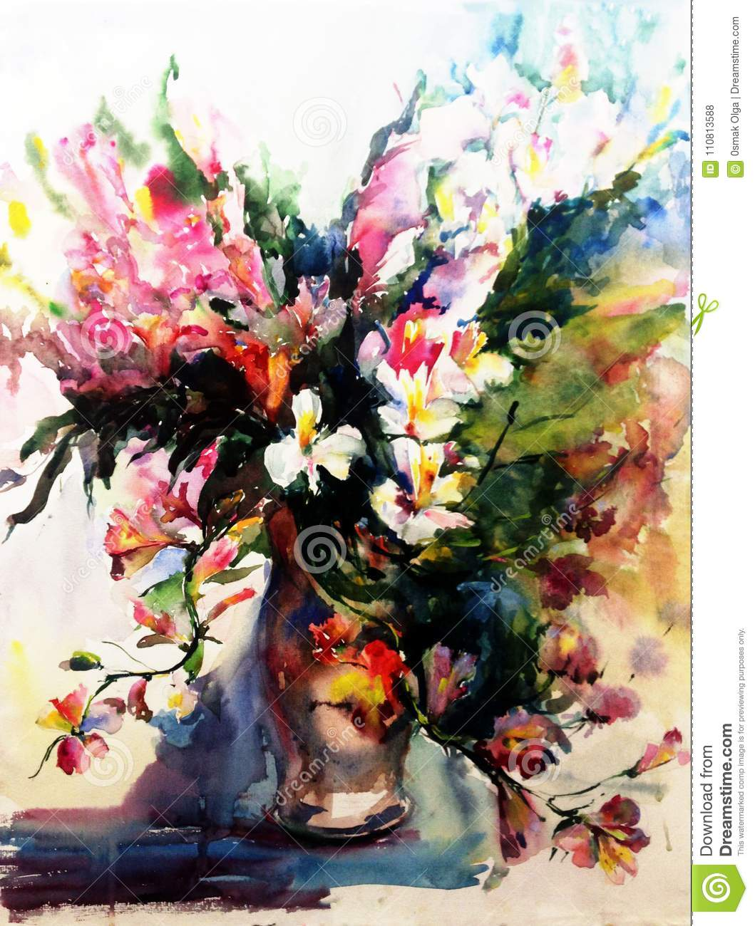 Watercolor Art Abstract Background Beautiful Floral Exotic Flowers on flower wreath painting, bird-and-flower painting, flower bowl painting, flower box painting, flower butterfly painting, bottle flower painting, flower oil paintings christmas, flower bed painting, flower table painting, candle painting, flower girl painting, flower white painting, frame painting, flower light painting, modern palette knife painting, flower mirror painting, flower vases with flowers, flower still life oil paintings, flower window painting, flower stand painting,