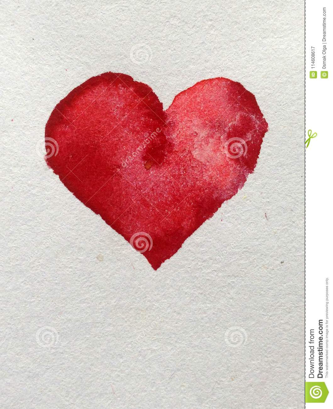 watercolor art abstract background bright blurred textured decoration handmade beautiful red love heart wallpaper watercolor art 114608617