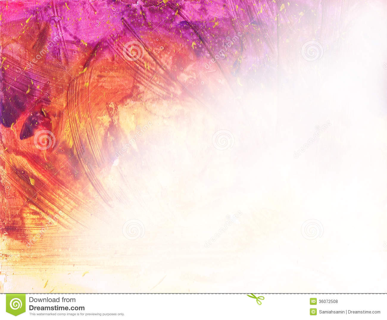 Watercolor background with texture paint blots splatters for Watercolor painting templates free