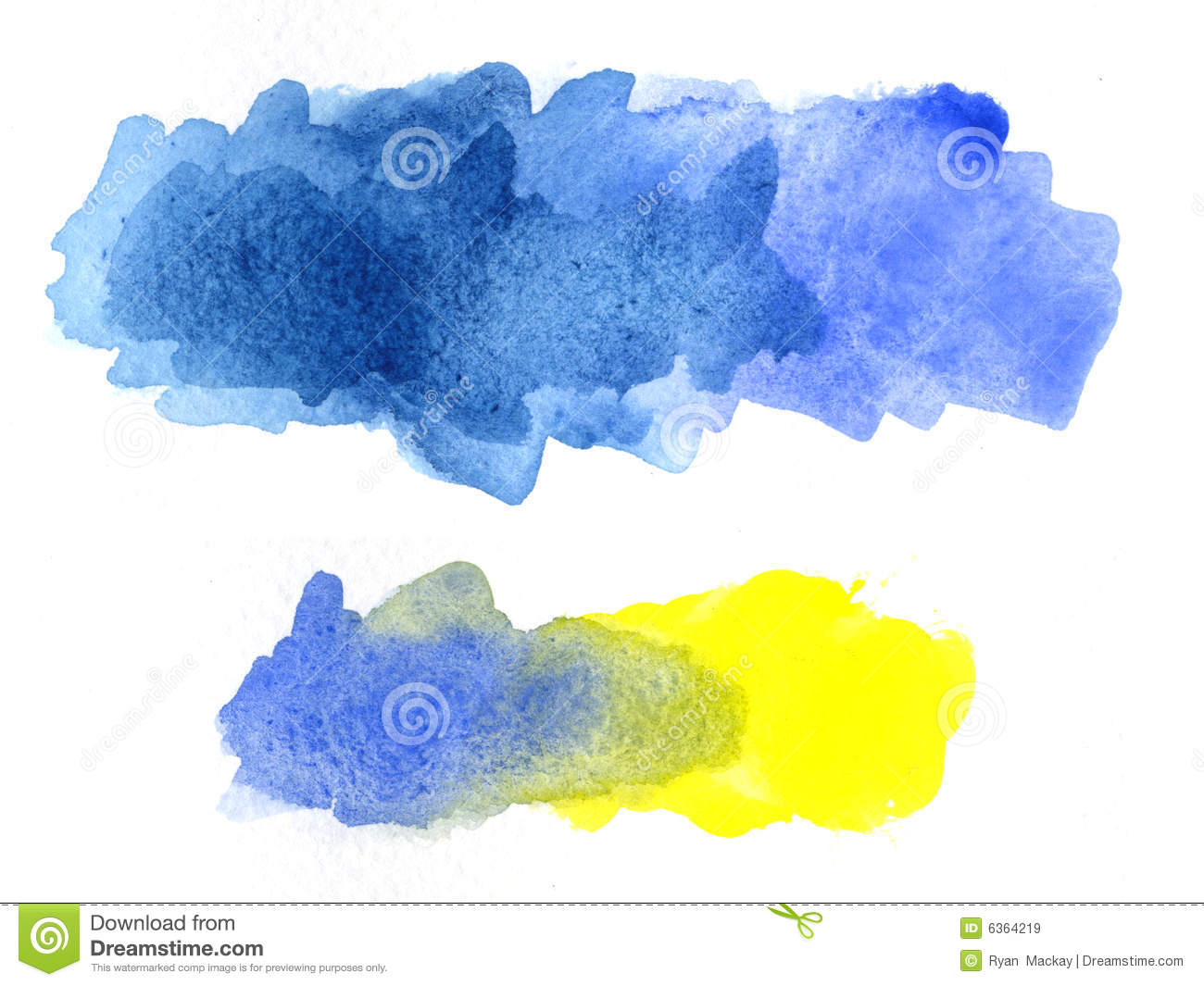 Free illustration watercolor pigment color free image - Royalty Free Stock Photo
