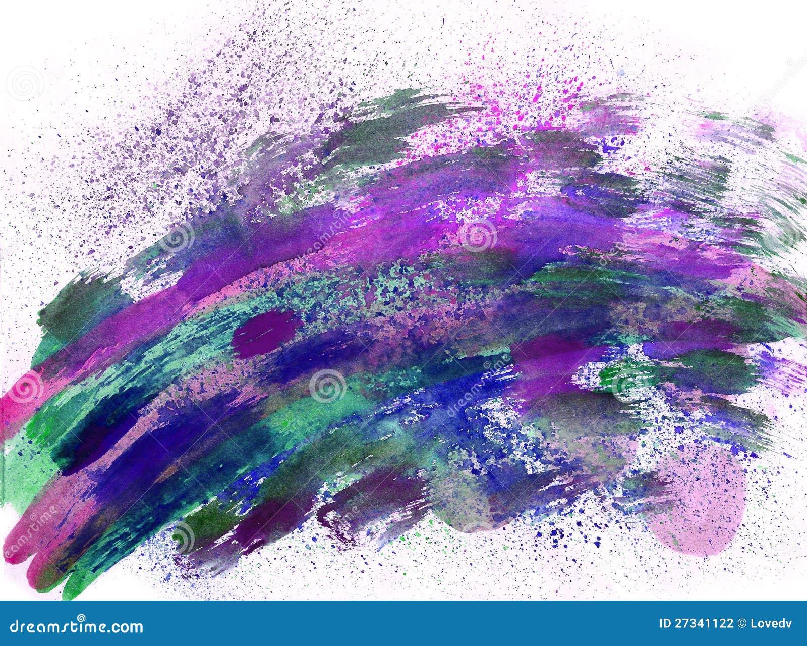 Как сделать фото с эффектом рисования красками