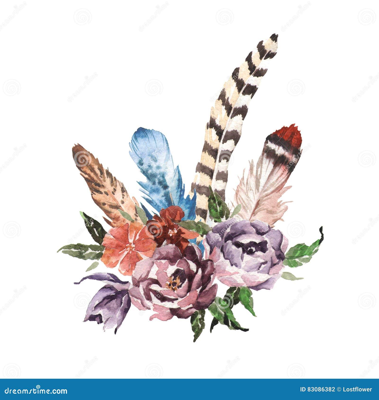 Antler Wreath Drawing
