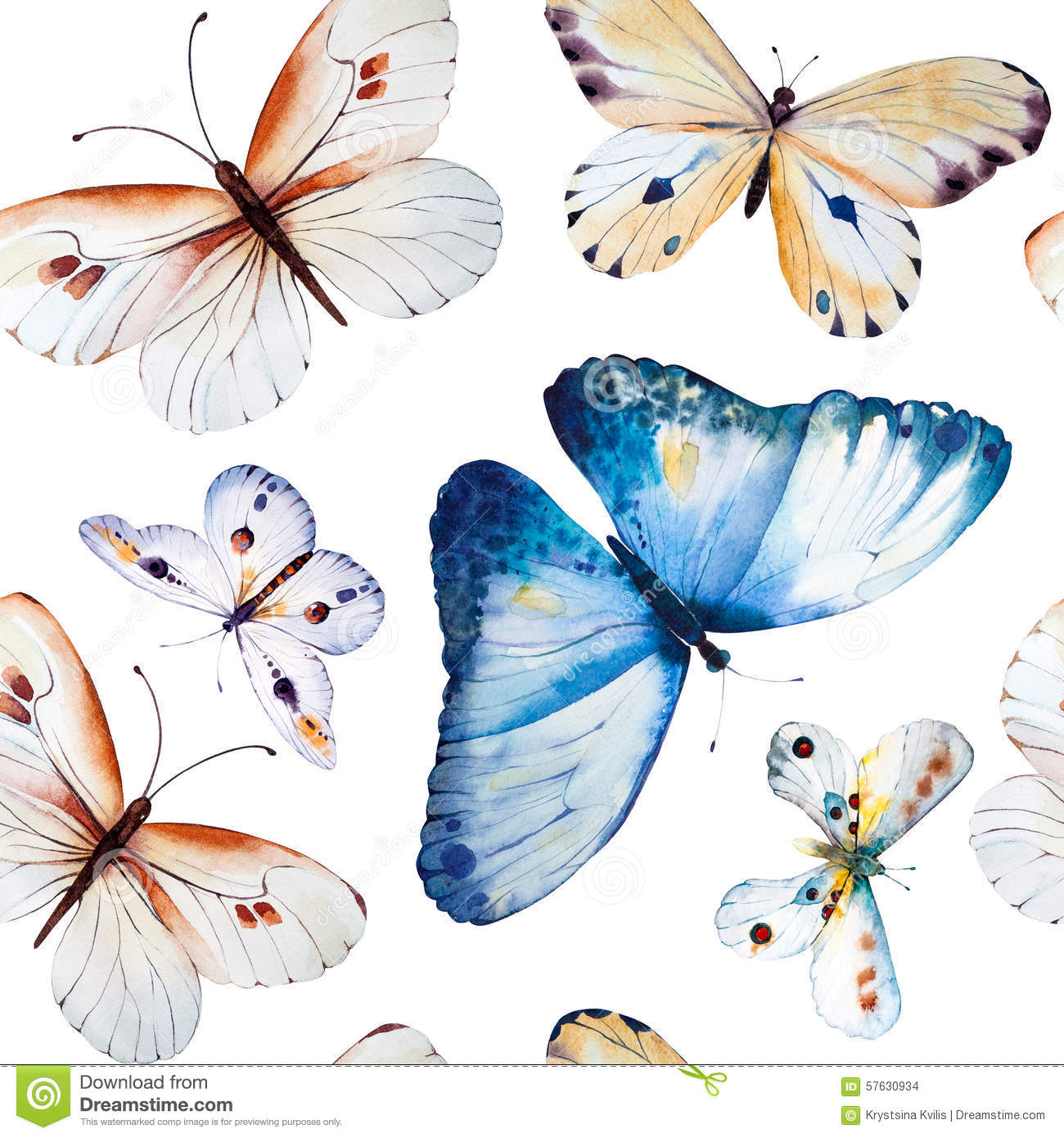 Beautiful Wallpaper Butterfly Hand - watercolor-butterflies-seamless-floral-vintage-pattern-background-wallpaper-hand-painted-illustration-57630934  Photograph_99254.jpg