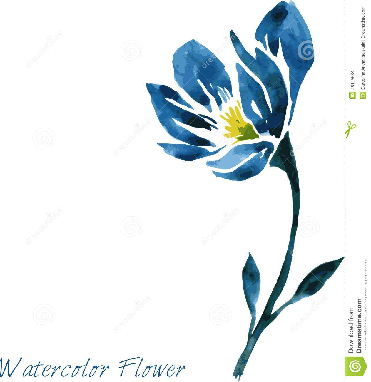 Clipart Flowers To Color