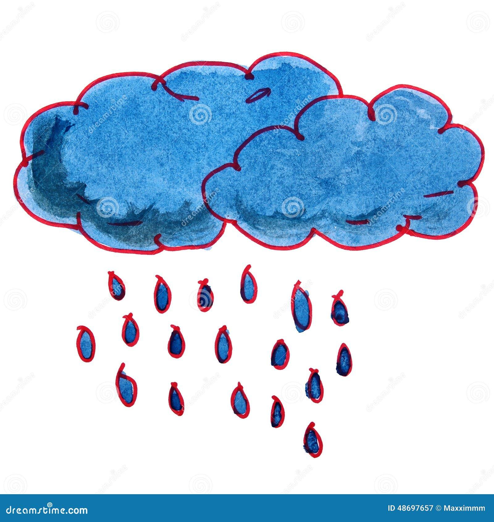 картинки дождя для детей