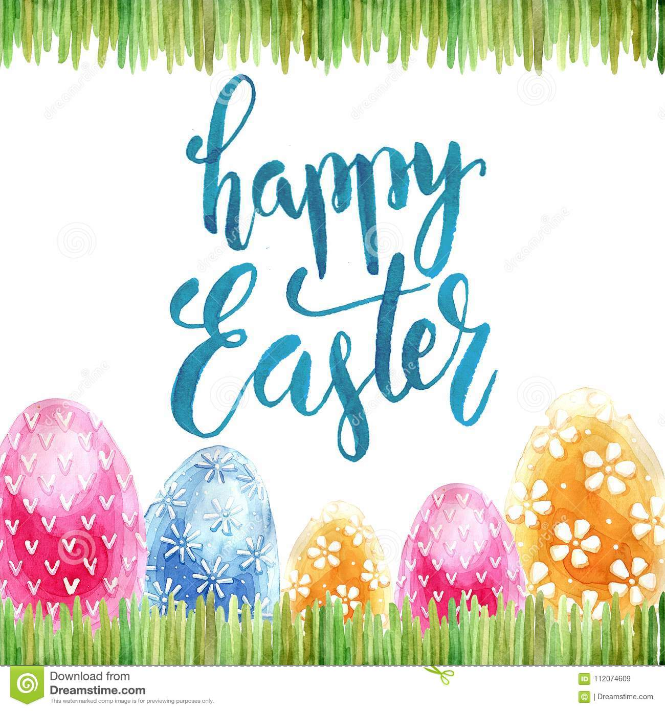 Watercolor easter holiday cards stock image image of message download watercolor easter holiday cards stock image image of message background 112074609 m4hsunfo
